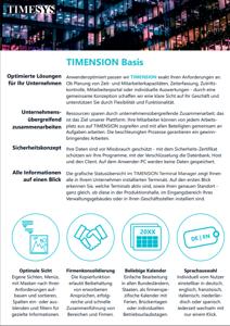 TIMENSION Basis