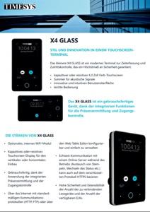 X4 GLASS